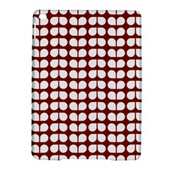 Red And White Leaf Pattern Apple Ipad Air 2 Hardshell Case by creativemom