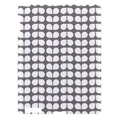 Gray And White Leaf Pattern Apple Ipad 3/4 Hardshell Case by creativemom