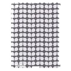 Gray And White Leaf Pattern Apple Ipad 3/4 Hardshell Case (compatible With Smart Cover) by creativemom