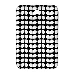 Black And White Leaf Pattern Samsung Galaxy Note 8 0 N5100 Hardshell Case  by creativemom