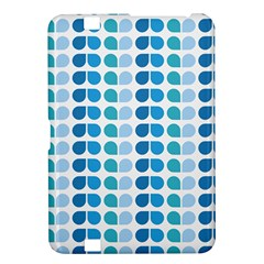 Blue Green Leaf Pattern Kindle Fire Hd 8 9  Hardshell Case by creativemom
