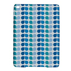 Blue Green Leaf Pattern Apple Ipad Air 2 Hardshell Case by creativemom