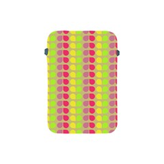 Colorful Leaf Pattern Apple Ipad Mini Protective Sleeve by creativemom