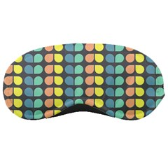 Colorful Leaf Pattern Sleeping Mask