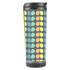 Colorful Leaf Pattern Travel Tumbler by creativemom