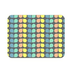 Colorful Leaf Pattern Double Sided Flano Blanket (mini) by creativemom