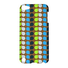 Colorful Leaf Pattern Apple Ipod Touch 5 Hardshell Case by creativemom