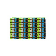 Colorful Leaf Pattern Cosmetic Bag (xs) by creativemom