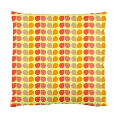 Colorful Leaf Pattern Cushion Case (two Sided)  by creativemom