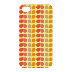 Colorful Leaf Pattern Apple Iphone 4/4s Hardshell Case by creativemom