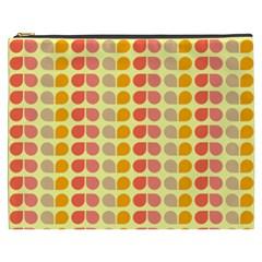 Colorful Leaf Pattern Cosmetic Bag (xxxl) by creativemom