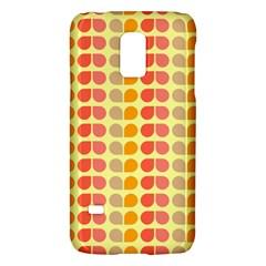 Colorful Leaf Pattern Samsung Galaxy S5 Mini Hardshell Case  by creativemom