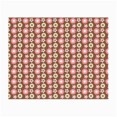 Cute Floral Pattern Glasses Cloth (small) by creativemom