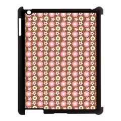 Cute Floral Pattern Apple Ipad 3/4 Case (black) by creativemom