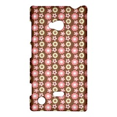 Cute Floral Pattern Nokia Lumia 720 Hardshell Case by creativemom