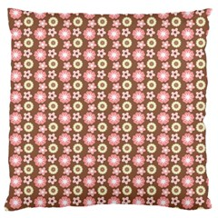 Cute Floral Pattern Standard Flano Cushion Case (two Sides) by creativemom