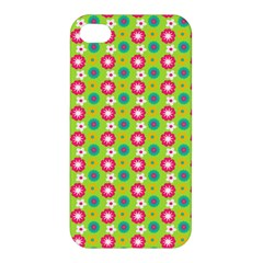 Cute Floral Pattern Apple Iphone 4/4s Hardshell Case by creativemom