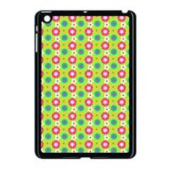 Cute Floral Pattern Apple Ipad Mini Case (black) by creativemom