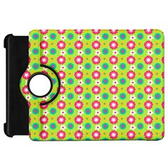 Cute Floral Pattern Kindle Fire HD Flip 360 Case by creativemom