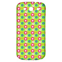 Cute Floral Pattern Samsung Galaxy S3 S Iii Classic Hardshell Back Case by creativemom