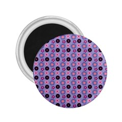 Cute Floral Pattern 2 25  Button Magnet by creativemom