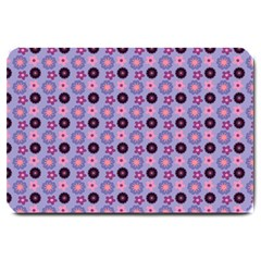 Cute Floral Pattern Large Door Mat by creativemom
