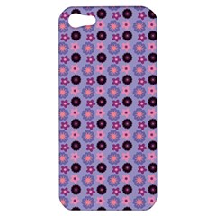 Cute Floral Pattern Apple Iphone 5 Hardshell Case by creativemom