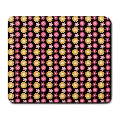 Cute Floral Pattern Large Mouse Pad (rectangle) by creativemom