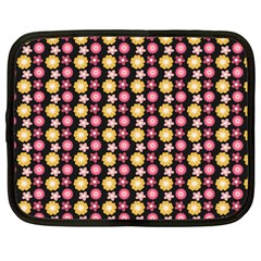 Cute Floral Pattern Netbook Sleeve (large) by creativemom