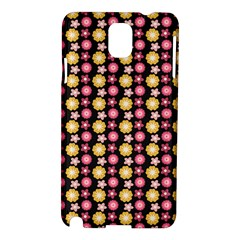 Cute Floral Pattern Samsung Galaxy Note 3 N9005 Hardshell Case by creativemom