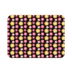 Cute Floral Pattern Double Sided Flano Blanket (mini) by creativemom