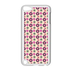 Cute Floral Pattern Apple Ipod Touch 5 Case (white) by creativemom