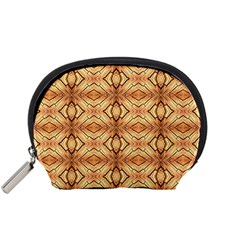 Faux Animal Print Pattern Accessory Pouch (small) by creativemom