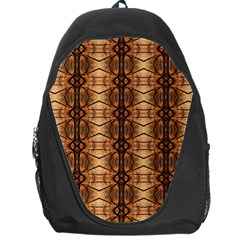 Faux Animal Print Pattern Backpack Bag by creativemom