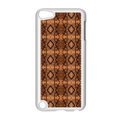 Faux Animal Print Pattern Apple Ipod Touch 5 Case (white) by creativemom