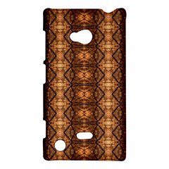 Faux Animal Print Pattern Nokia Lumia 720 Hardshell Case by creativemom