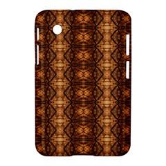 Faux Animal Print Pattern Samsung Galaxy Tab 2 (7 ) P3100 Hardshell Case  by creativemom