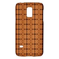 Faux Animal Print Pattern Samsung Galaxy S5 Mini Hardshell Case  by creativemom
