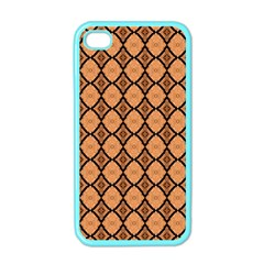 Faux Animal Print Pattern Apple Iphone 4 Case (color) by creativemom