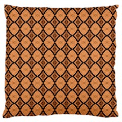 Faux Animal Print Pattern Standard Flano Cushion Case (one Side) by creativemom