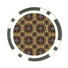 Faux Animal Print Pattern Poker Chip by creativemom
