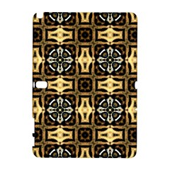 Faux Animal Print Pattern Samsung Galaxy Note 10.1 (P600) Hardshell Case by creativemom