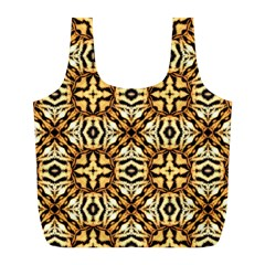 Faux Animal Print Pattern Reusable Bag (L) by creativemom