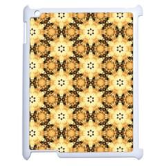Faux Animal Print Pattern Apple Ipad 2 Case (white) by creativemom