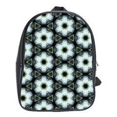 Faux Animal Print Pattern School Bag (xl) by creativemom