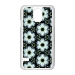 Faux Animal Print Pattern Samsung Galaxy S5 Case (white) by creativemom