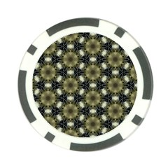 Faux Animal Print Pattern Poker Chip (10 Pack) by creativemom