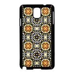 Faux Animal Print Pattern Samsung Galaxy Note 3 Neo Hardshell Case (black) by creativemom