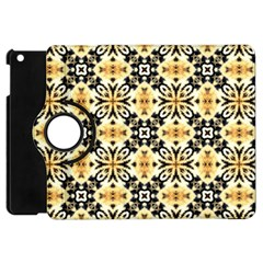 Faux Animal Print Pattern Apple Ipad Mini Flip 360 Case by creativemom