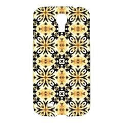 Faux Animal Print Pattern Samsung Galaxy S4 I9500/i9505 Hardshell Case by creativemom